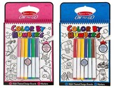 Melissa & Doug Color by Numbers On The Go Activity