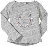 Petit Bateau Graphic Sweatshirt (Toddler/Kid) - Grey-3 Years