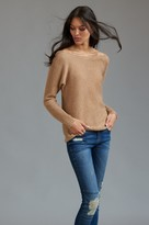 Dynamite Off-The-Shoulder Dolman Sleeve Sweater