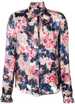 Saloni tigerlily floral printed shirt
