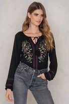 Rut & Circle Brielle emb blouse