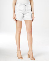 INC International Concepts Linen Belted Shorts, Only at Macy's