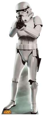 BuySeasons Star Wars Stormtrooper Stand Up