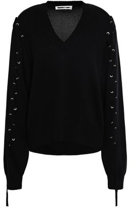 McQ Lace-up Cotton Sweater