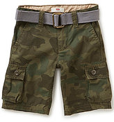 Levi's s Little Boys 2T-7X Westwood Camo Print Cargo Shorts