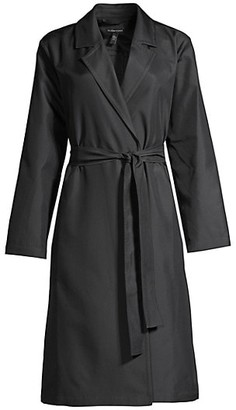 Eileen Fisher Belted Trench Coat