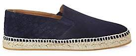 Bottega Veneta Men's Two-Textured Suede Espadrilles