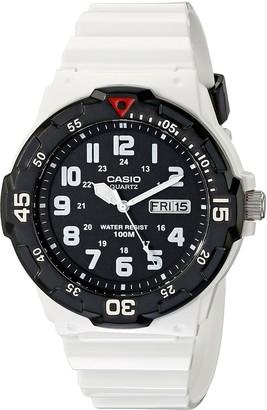 Casio Men's MRW-200HC-7BVCF Classic Stainless Steel White Watch