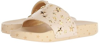 Tory Burch Star Slide (New Cream/Gold) Women's Sandals