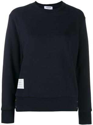 Thom Browne RWB-stripe sweatshirt