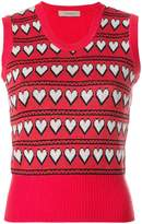 Preen Line Leta knitted top