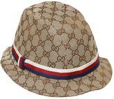 Gucci Gg Supreme Cotton Canvas Hat