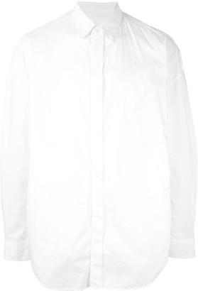 Julius Concealed Button Up Shirt