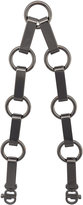 Mark Cross large chain strap - women - metal - One Size