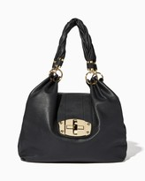 Charming charlie Good Lock Charm Hobo Bag