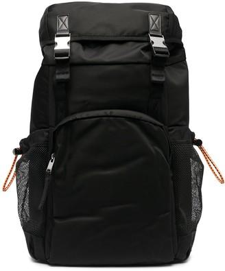 Diesel Drawstring And Buckle Backpack