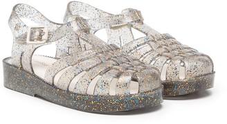Mini Melissa Possession glittery jelly shoes