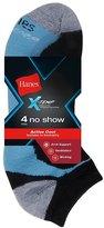Hanes X-Temp Men`s Big Tall Active Cool No-Show Socks, 532/4P