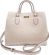 Kate Spade Laurel Way Evangelie Saffiano Leather Shoulder Bag Satchel