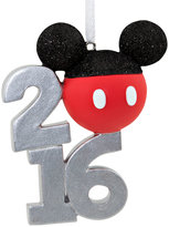 Hallmark Mickey Icon Dated Stacked Resin Ornament