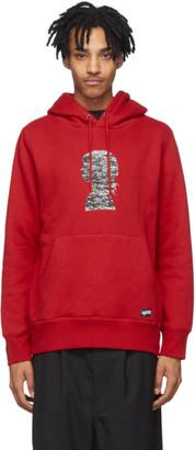 Vans Red Jim Goldberg Edition Silhouette Hoodie