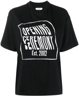 Opening Ceremony logo-print cotton T-shirt