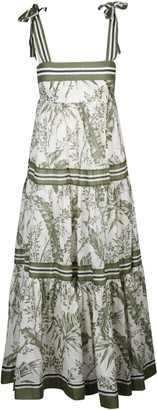 Zimmermann Empire Tie Shoulder Dress
