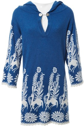 Barrie Blue Cashmere Dress for Women