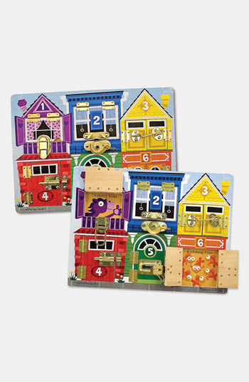 Melissa & Doug Toddler 'Latches' Activity Board