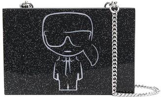 Karl Lagerfeld Paris K/Ikonik minaudiere clutch