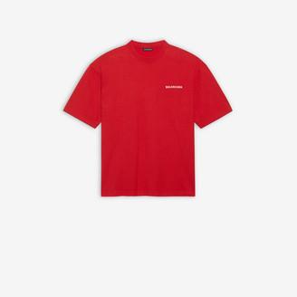 Balenciaga Logo Medium Fit T-shirt