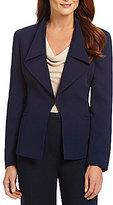 Preston & York Leslie Ruffle-Collar Jacket