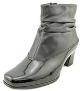 David Tate Vera Women N/s Square Toe Leather Ankle Boot.