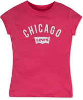 Levi's Chicago Graphic-Print City T-Shirt, Toddler Girls (2T-5T) & Little Girls (2-6X)