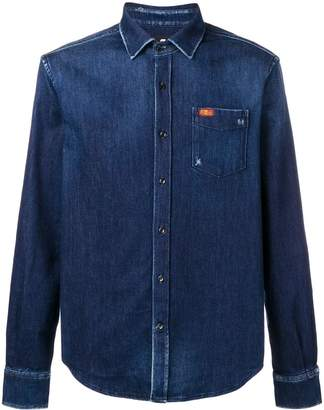 7 For All Mankind chest pocket denim shirt