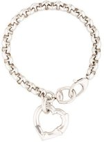 Gucci Bamboo Cuore Charm Bracelet