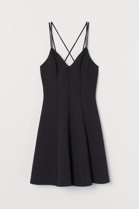 H&M Scuba Dress - Black