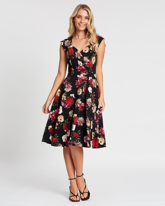 Review Wild Roses Dress