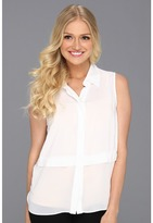 BCBGeneration Pleat Button Down