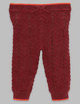 Autograph Knitted Leggings with Cashmere