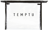 Temptu Signature Clear Makeup Bag - Large