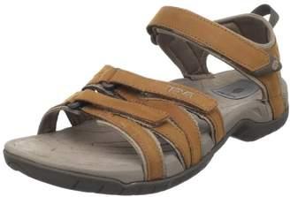 Teva Women's Tirra Leather Sandals, Brown (Rustique Rust), (38 EU)