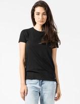 SILENT DAMIR DOMA Black Tela Basic S/S T-Shirt