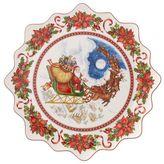 Villeroy & Boch Toys Fantasy Santa Flight Pastry Plate