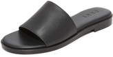 DKNY Lani Leather Slides