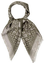 Givenchy Logo Silk Scarf