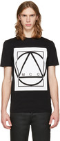 McQ by Alexander McQueen Black Glyph Icon T-Shirt
