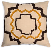 The Piper Collection Walker 22x22 Linen Pillow. Stone