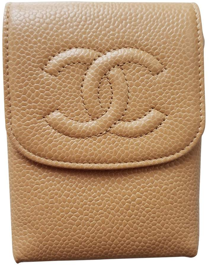 Chanel Timeless leather purse