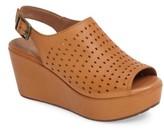 Chocolat Blu Women's Wala Perforated Wedge Sandal